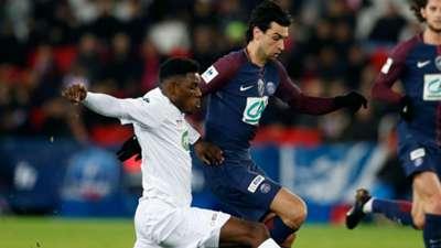 Javier Pastore PSG Guingamp Coupe de France 24012018