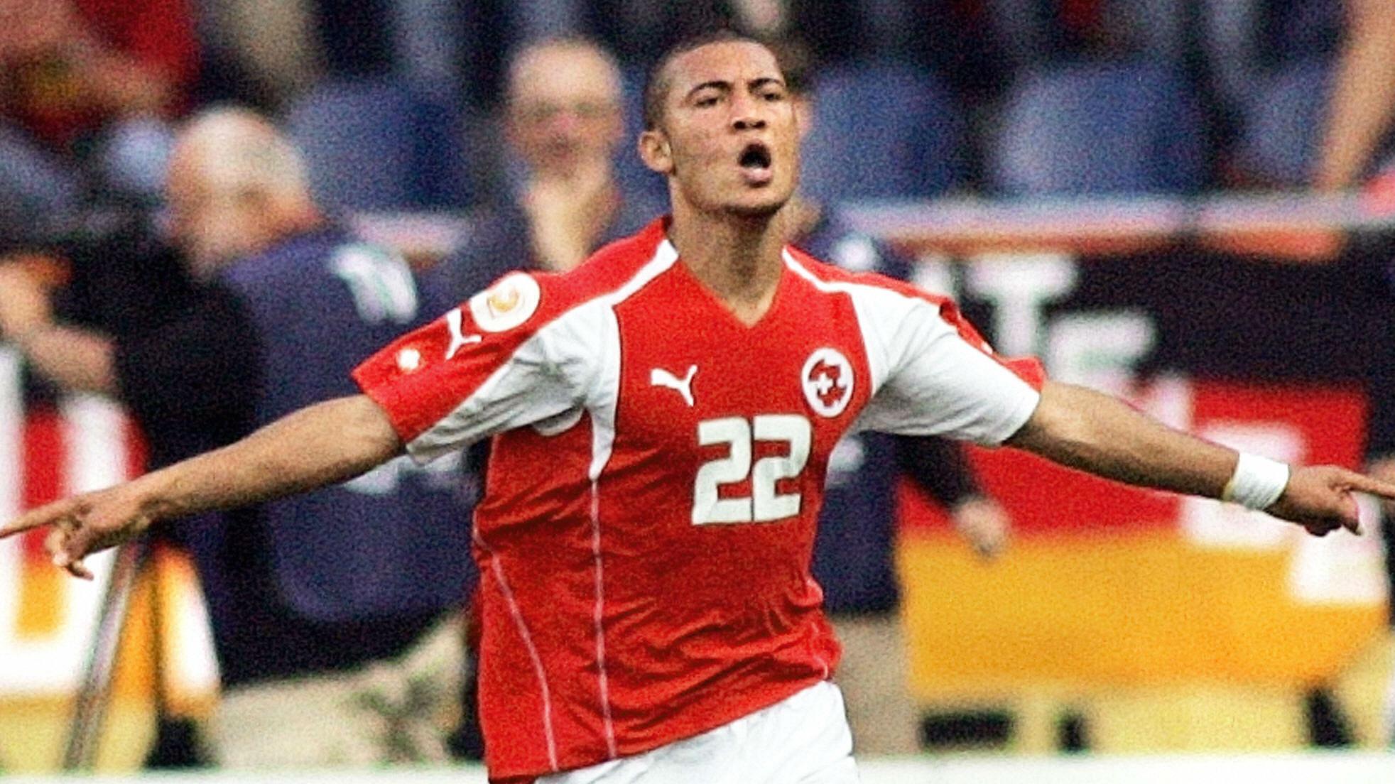Johan Vonlanthen 2004 EURO Switzerland