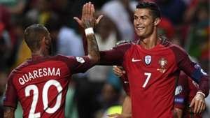 Ricardo Quaresma Cristiano Ronaldo Portugal