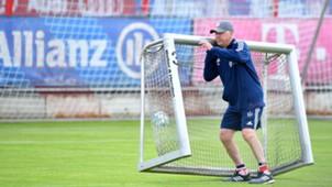 Carlo Ancelotti, Bayern München, Training, 10072017