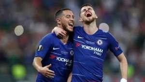 Hazard Chelsea Europa League final
