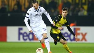 Julian Weigl Jospi Ilicic Borussia Dortmund Atalanta Bergamo Europa League 15022018