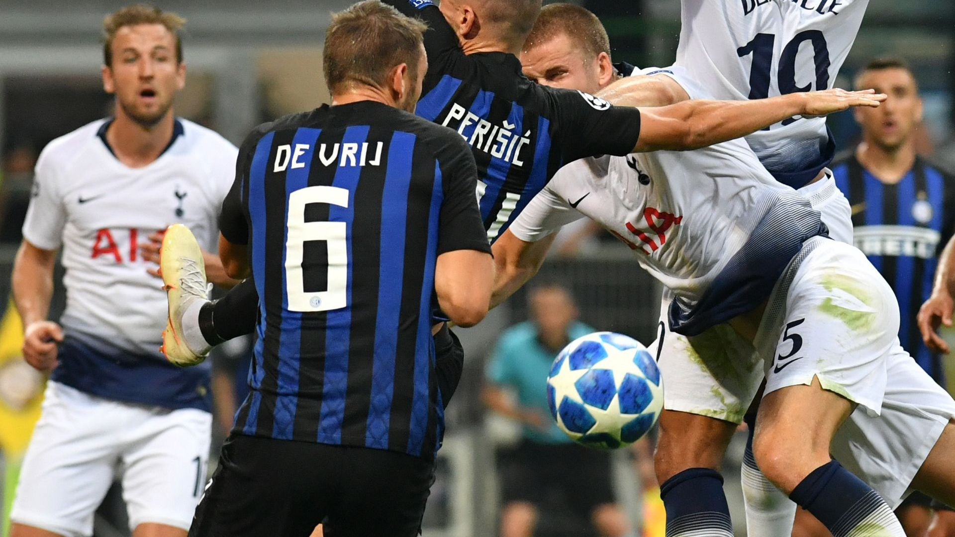 De Vrij Inter Tottenham