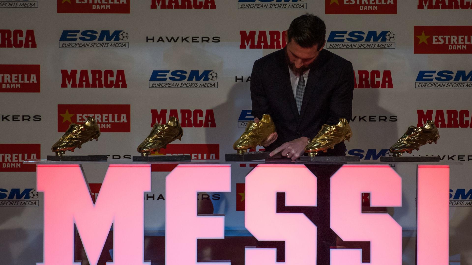 Lionel Messi Golden Shoe