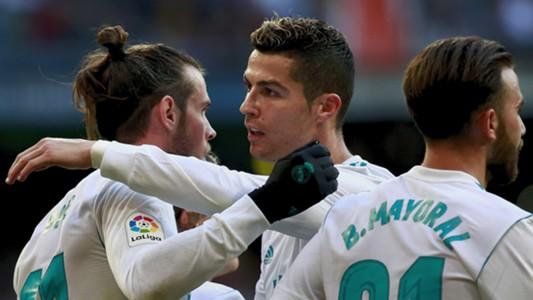 Real Madrid Cristiano Ronaldo Gareth Bale Mayoral 21012018
