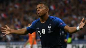 Kylian Mbappé France Netherlands Nations League 09092018