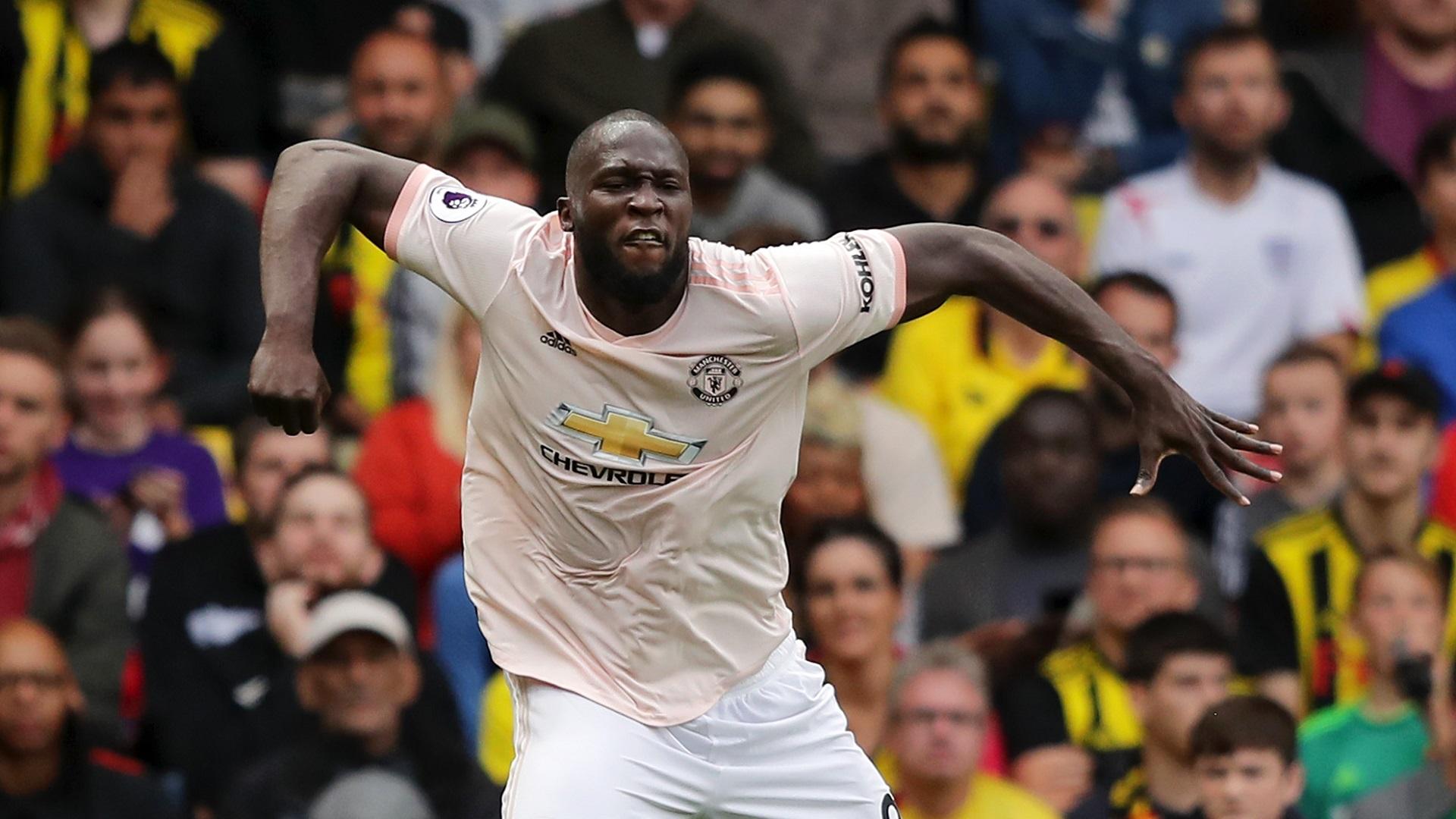 Romelu Lukaku Manchester United 15092018