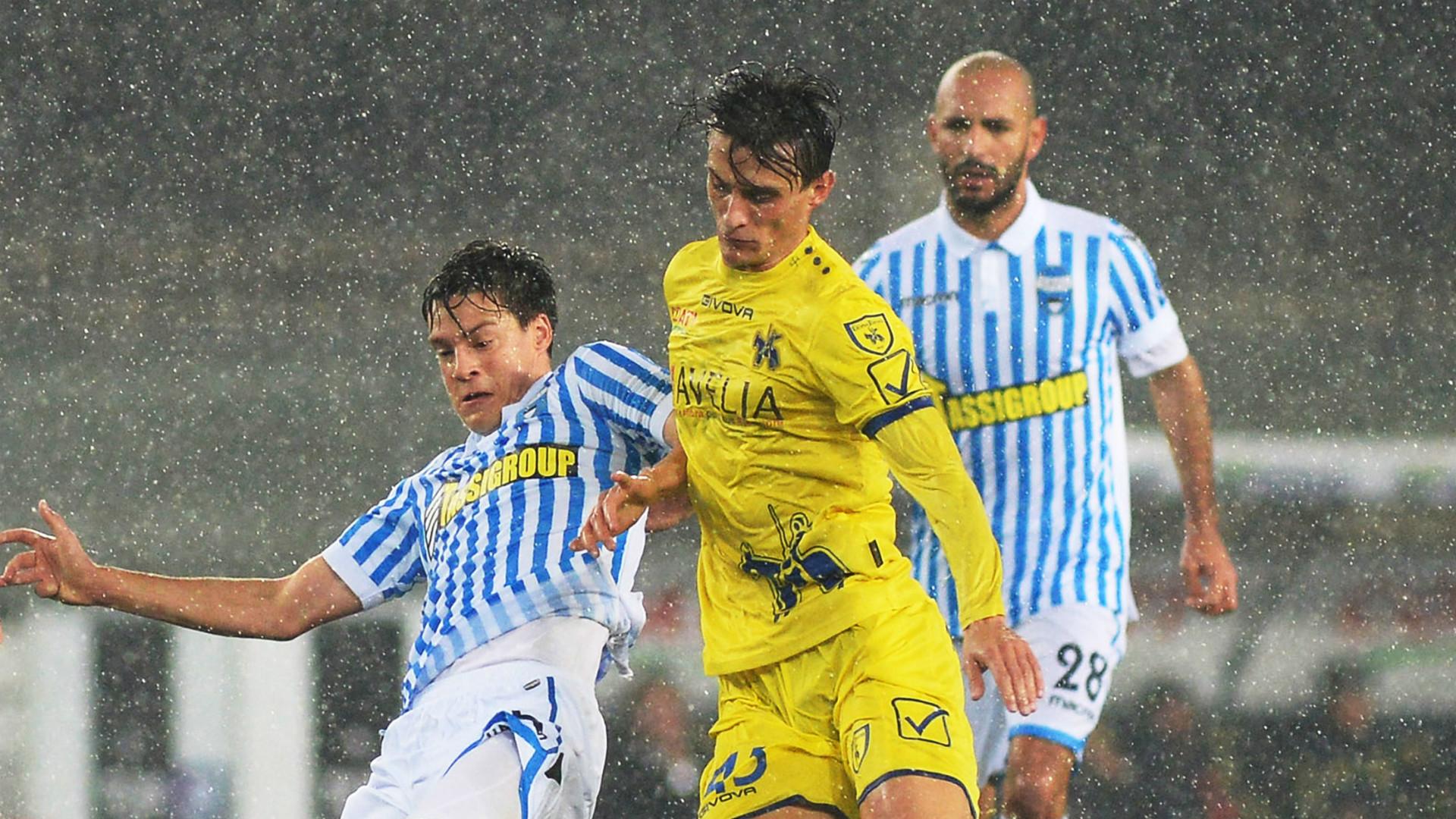 Francesco Vicari, Roberto Inglese, Chievo, SPAL, Serie A, 25/11/2017