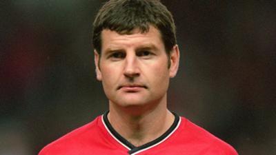 Denis Irwin Manchester United Champions League 1999