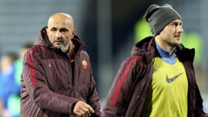 Luciano Spalletti Francesco Totti Roma