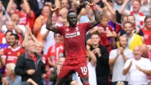 Sadio Mane Liverpool West Ham 12082018