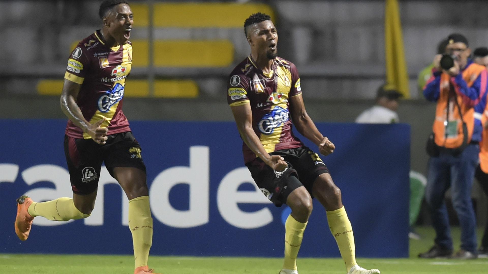 Deportes Tolima gol Copa Libertadores 2019