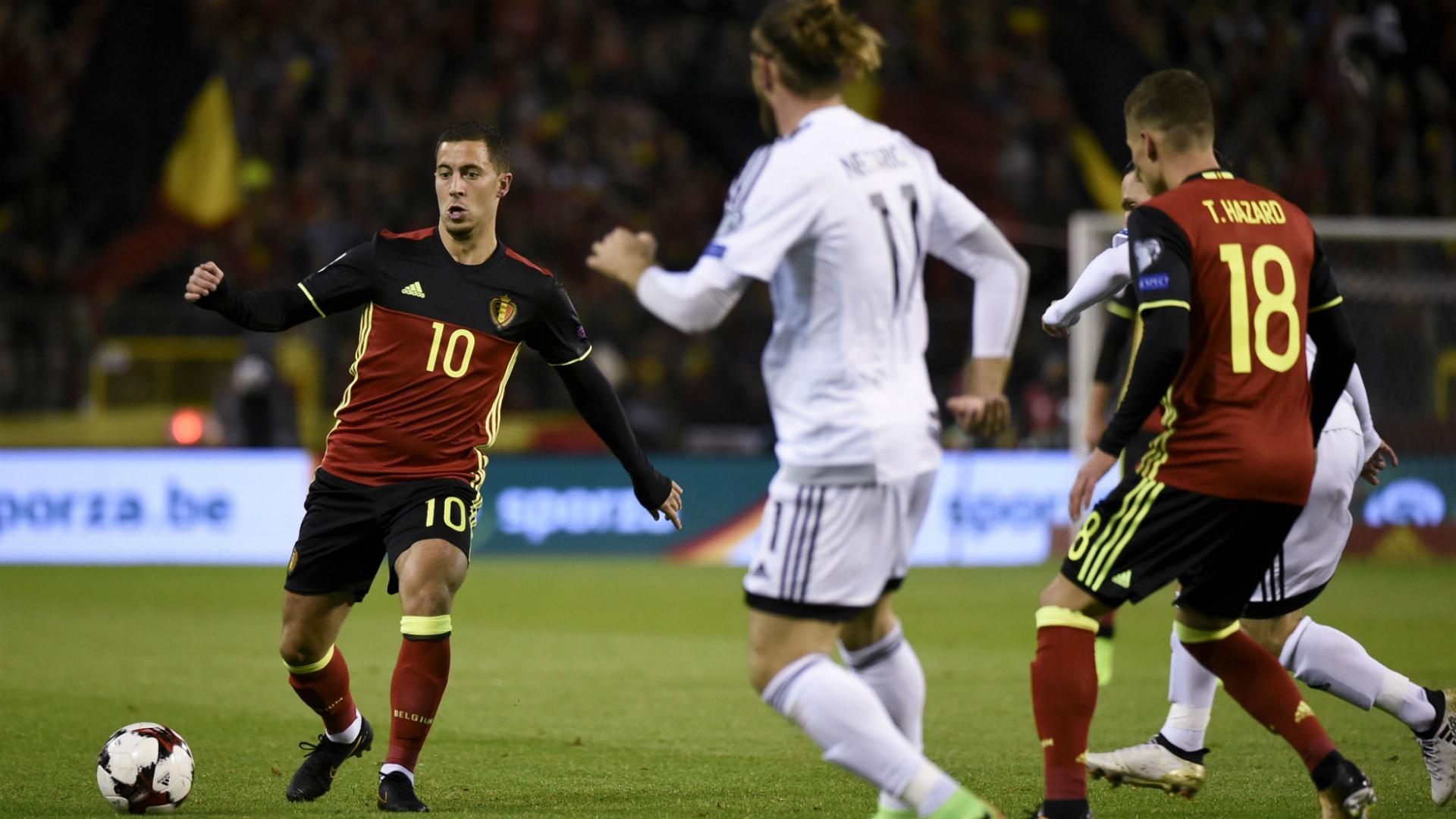 Eden Hazard Thorgan Hazard Belgium Cyprus