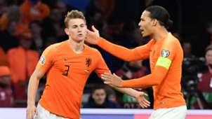 Matthijs de Ligt Virgil van Dijk Netherlands