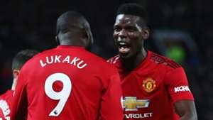 Romelu Lukaku Paul Pogba Man Utd 2019