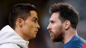 GFX Cristiano Ronaldo Lionel Messi 2017
