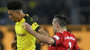 Jadon Sancho Franck Ribery Borussia Dortmund Bayern Munich