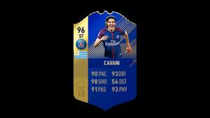 FIFA 18 Ultimate Team of the Season Cavani