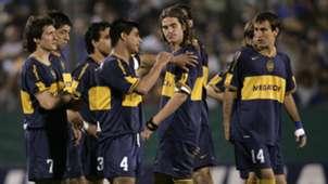 Fernando Gago Guillermo Barros Schelotto Hugo Ibarra Rodrigo Palacio Boca Juniors Apertura 2006