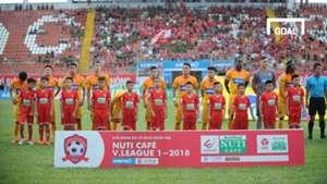 Hải Phòng CLB TP.HCM Vòng 14 V.League 2018