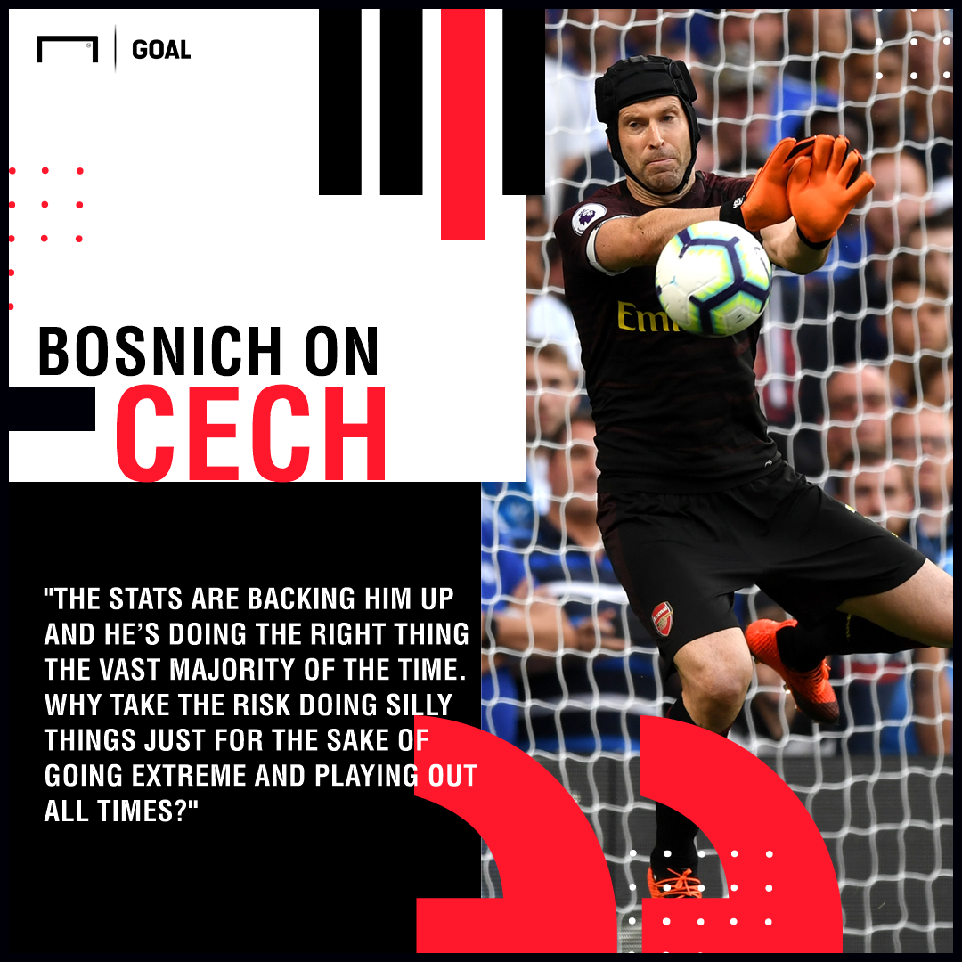Bosnich on Cech GFX