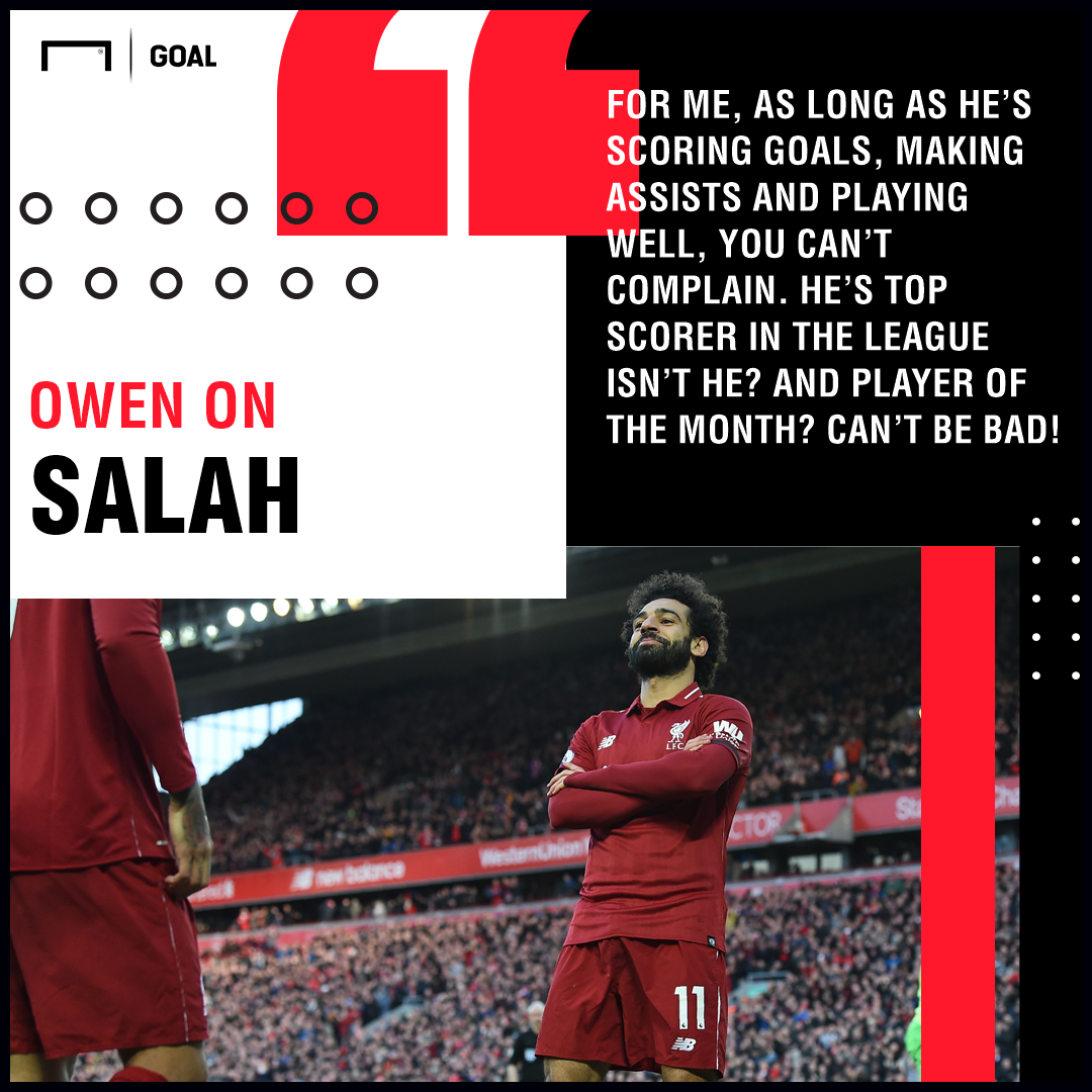 Michael Owen on Mohamed Salah 2018/19