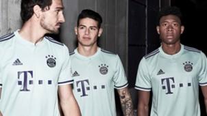 Bayern Munich Away Kit 2018/19
