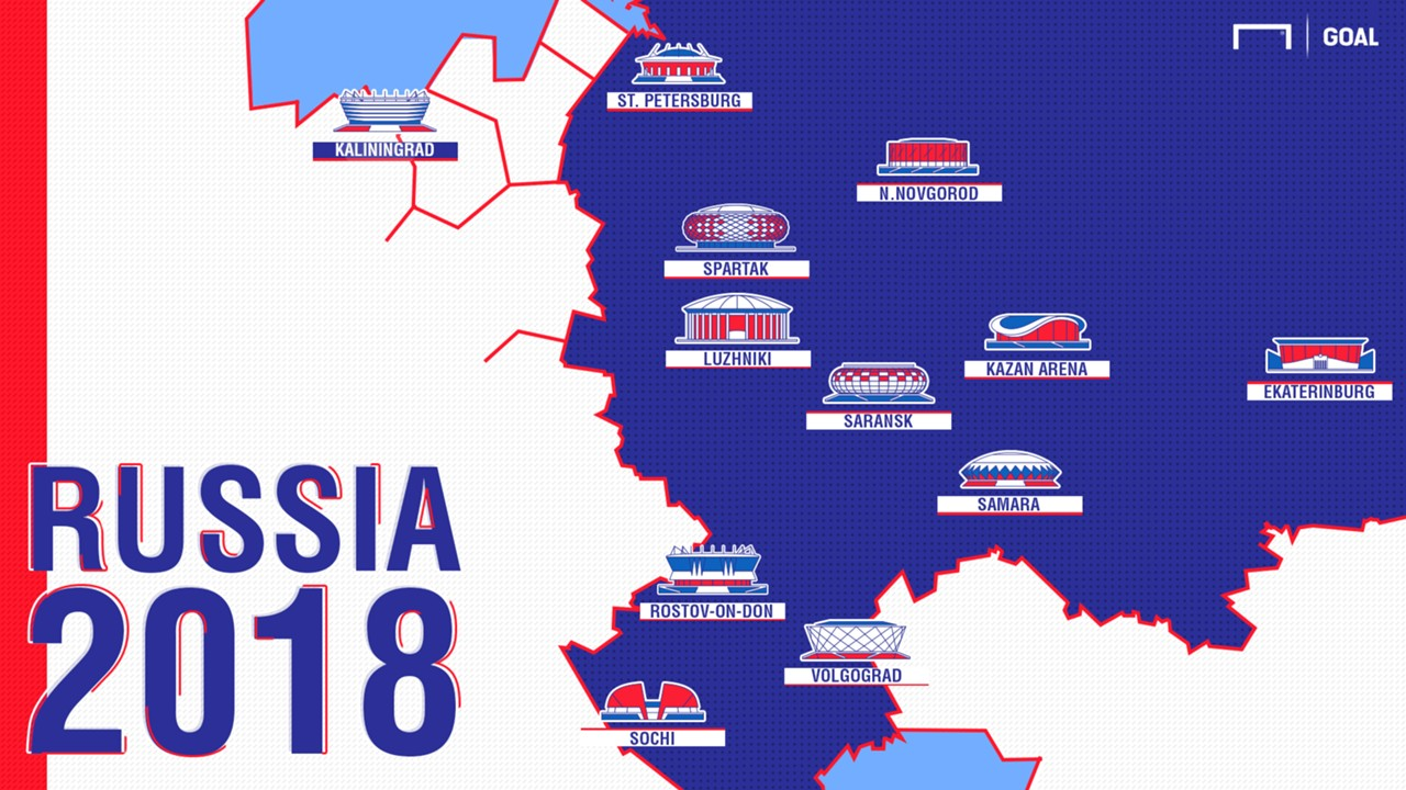 Russia 2018 host cities moscow st petersburg the 12 world cup russia 2018 host cities moscow st petersburg the 12 world cup stadiums profiled goal gumiabroncs Gallery