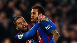 Jordi Alba Neymar Barcelona