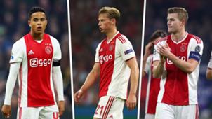 Justin Kluivert Frenkie De Jong Matthijs De Ligt Ajax