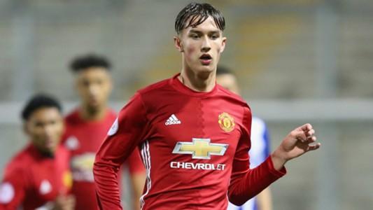 Callum Gribbin Manchester United