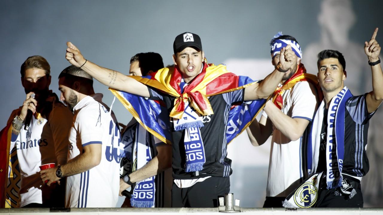 Real Madrid celebrations