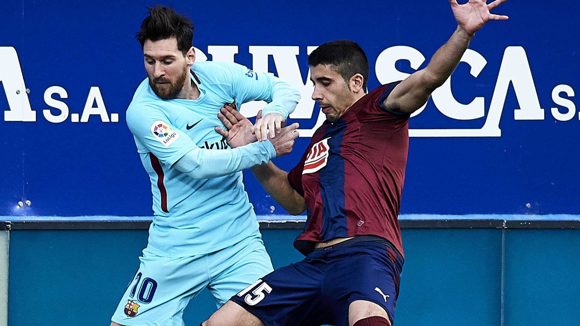 Cote Lionel Messi Barcelona Eibar