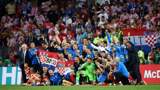 croatia england - celebration - world cup - 11072018