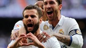 Nacho Sergio Ramos Real Madrid Sevilla LaLiga 14052017