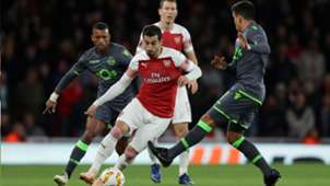 Mkhitaryan Arsenal Sporting