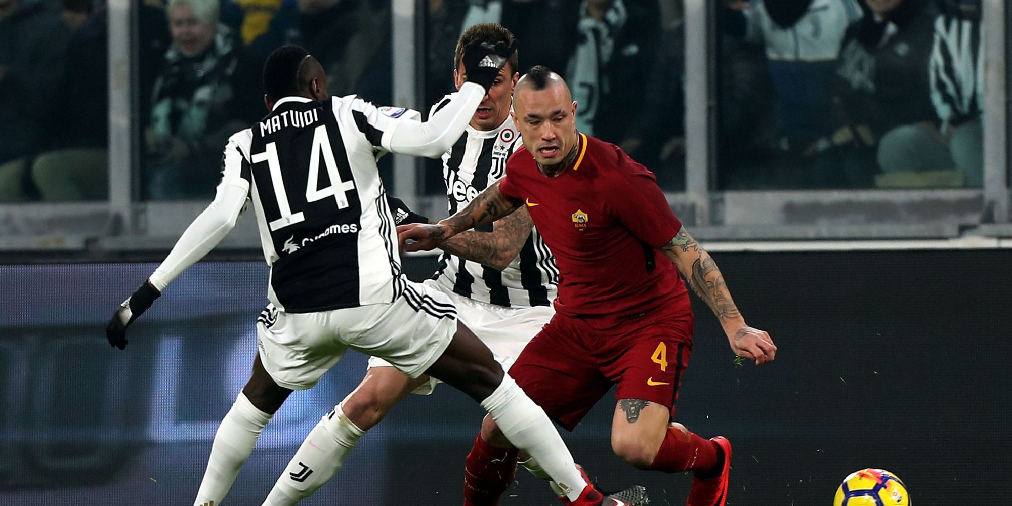 Juve-Roma, Nainggolan: