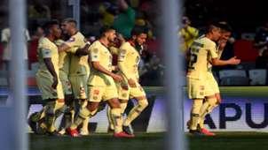 Festejo Gol América Querétaro Clausura 2019