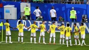 festejo Colombia Senegal WC Russia 28062018