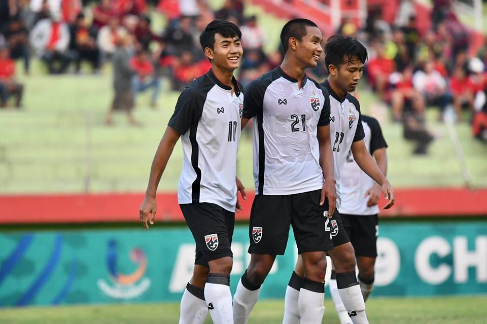 Image result for ศุภณัฏฐ์ยิง 1 จ่าย 1 ช้างศึก U19 ถล่มสิงคโปร์ 6-0