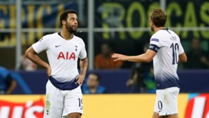 Mousa Dembele Harry Kane Tottenham Inter 180918