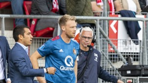 Nicolai Jörgensen, AZ - Feyenoord, Eredivisie 09162018