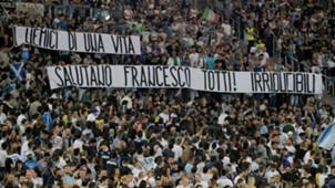 Tifosi Lazio Totti Serie A