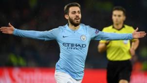 Bernardo Silva Manchester City Shakhtar Donetsk UEFA Champions League 23102018