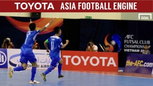 2017 AFC Futsal Club Championship   Thai Son Nam (Vietnam) 4-0 Nafit Al-Wasat (Iraq)