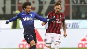 Lucas Biglia Felipe Anderson Milan Lazio Coppa Italia