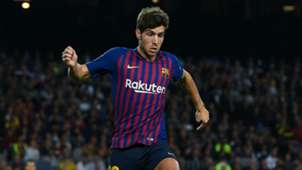 Sergi Roberto Barcelona 2018-19