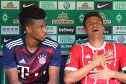 *NO GAL* Thomas Müller Kingsley Coman FC Bayern