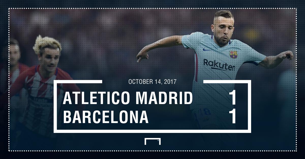 Atletico Barca score