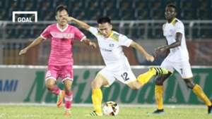 Sài Gòn FC SLNA Vòng 12 V.League 2018